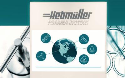 Mario Theissen – Geschäftsführer Hebmüller Pharma Biotech – präsentiert sein umfangreiches Lieferspektrum