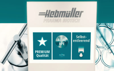 Hebmüller Pharma Biotech präsentiert Überström- und Druckminderventile