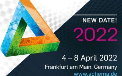 Hebmüller Pharma Biotech auf der ACHEMA 2022 Frankfurt am Main 04.-08. April